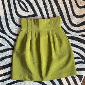 H&M High waist cinched skirt